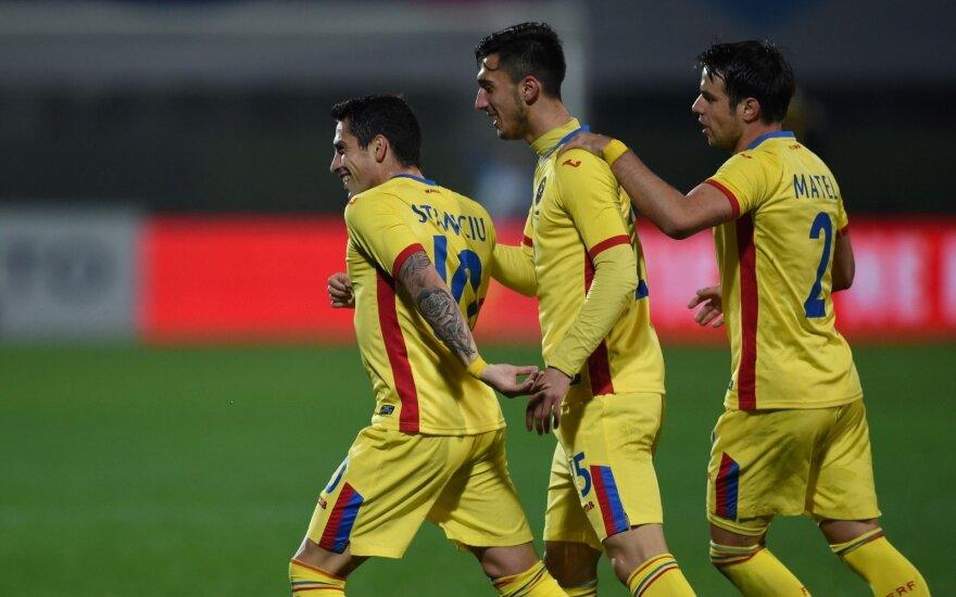 Draugiškose rungtynėse rumunai lygiosiomis sužaidė su Kongu