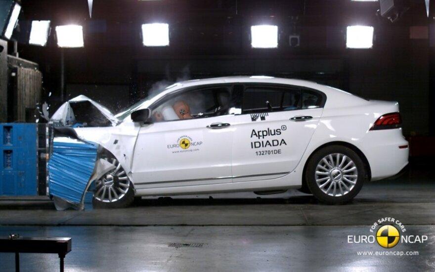 Euro NCAP bandymai: Qoros 3