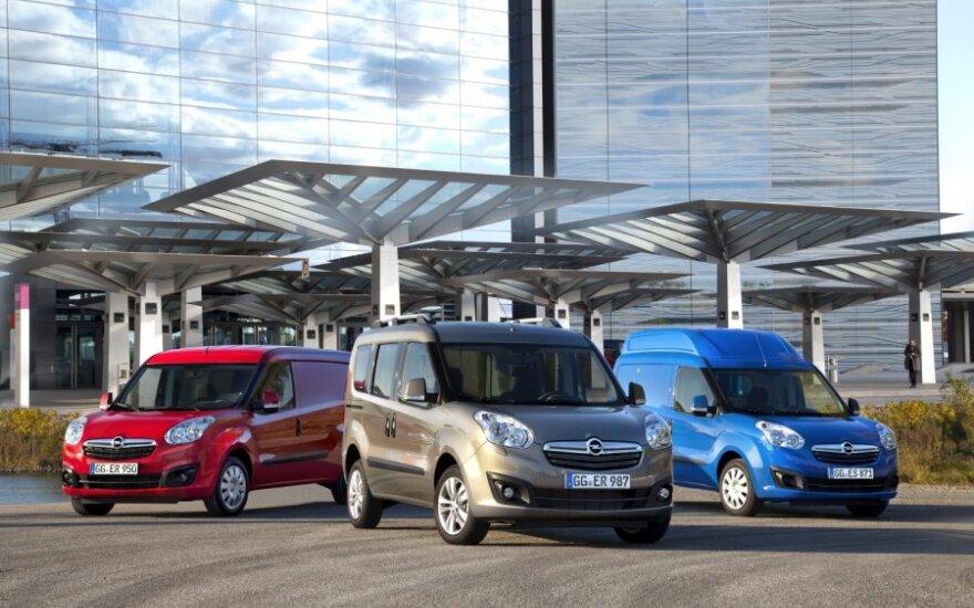 Opel Combo ir Combo Tour