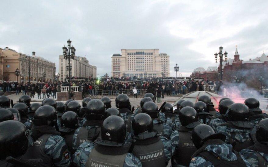 Lietuva suteikė prieglobstį dėl 2012-ųjų protestų Maskvoje teisiamam Dmitrijui Bučenkovui