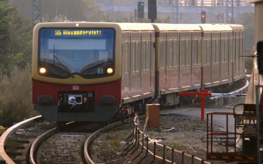 S-Bahn traukinys Berlyne