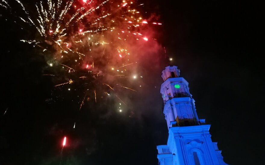 5 spots to watch fireworks on New Year's Eve in Kaunas