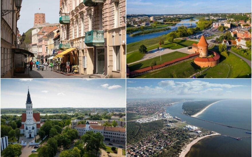 Pasitikrinkite žinias: ar gerai pažįstate Lietuvos miestus?