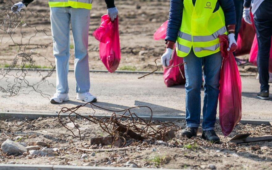 Šį penktadienį galėsime skelbti tarptautine tvarkymosi diena: organizuojama masinė švarinimosi akcija