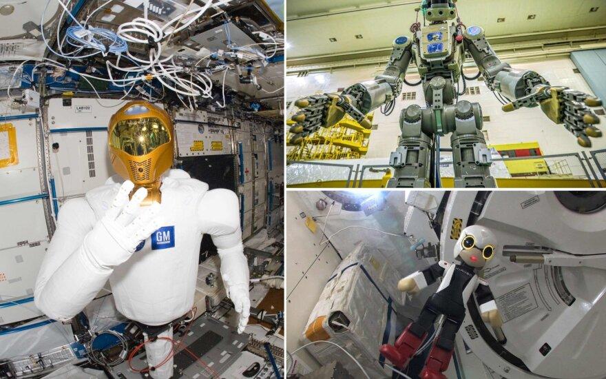 Žmogaus pavidalo robotas FEDOR
