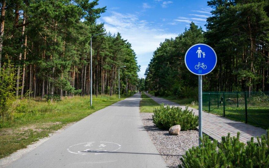 R. Masiulis: Lietuvos dviračių takus siūloma sujungti į vieną sistemą