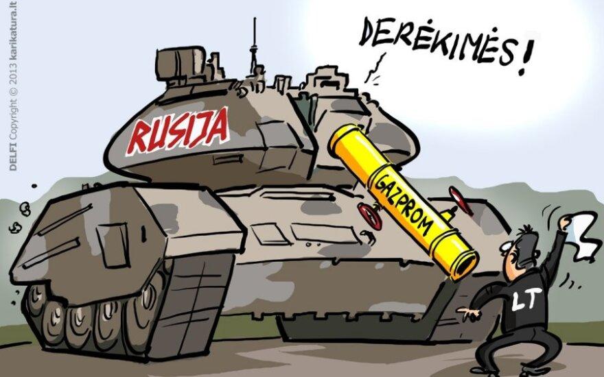 Gazprom, Rusija, Lietuva, Butkevičius