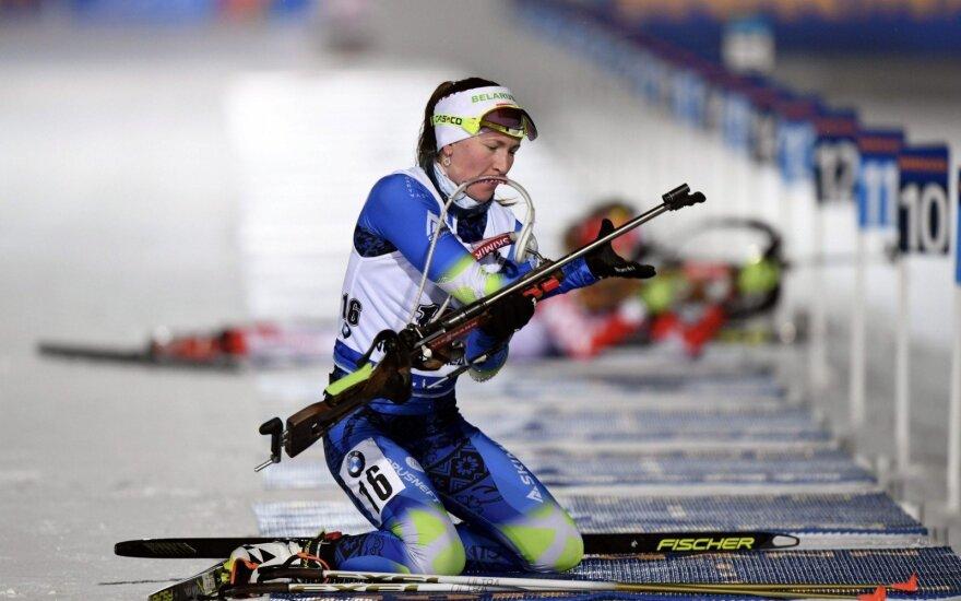 Pasaulio biatlono taurėje – Domračevos triumfas, lietuvės – tarp autsaiderių