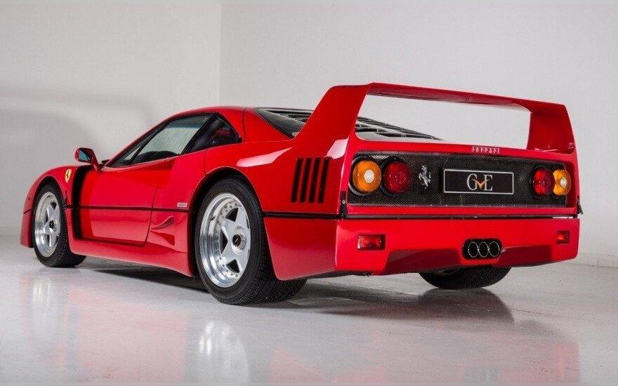 "Parduodamas Erico Claptono ""Ferrari F40"""