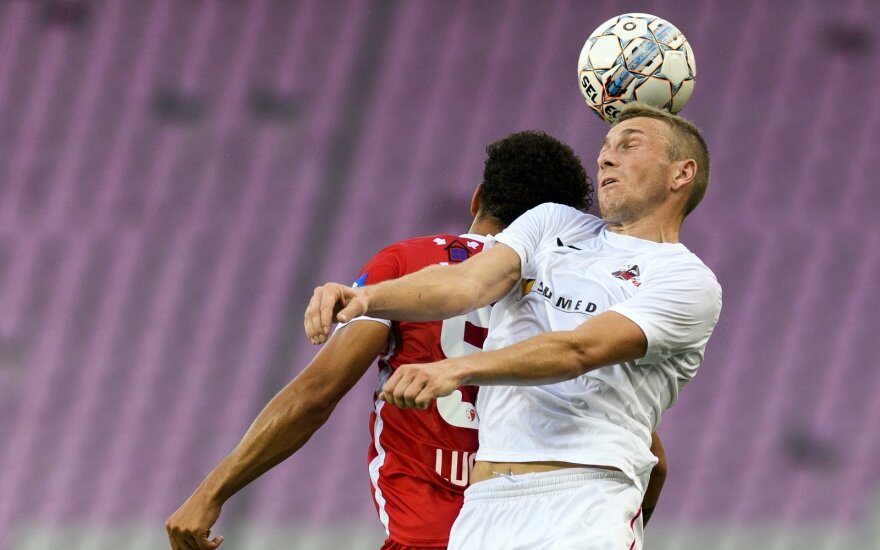 """""""Sūduva"""" iškopė į ketvirtą UEFA Europos lygos atrankos etapą"""