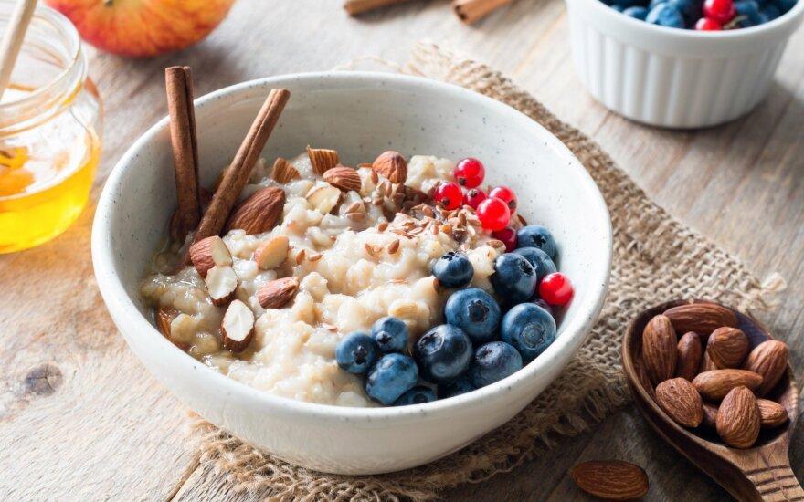 Norite numesti svorio? Valgykite dvejus pusryčius ir teisingus pietus