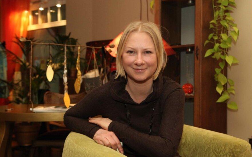 Dizainerė Julija planuoja tapti savo naujos kolekcijos reklaminiu veidu