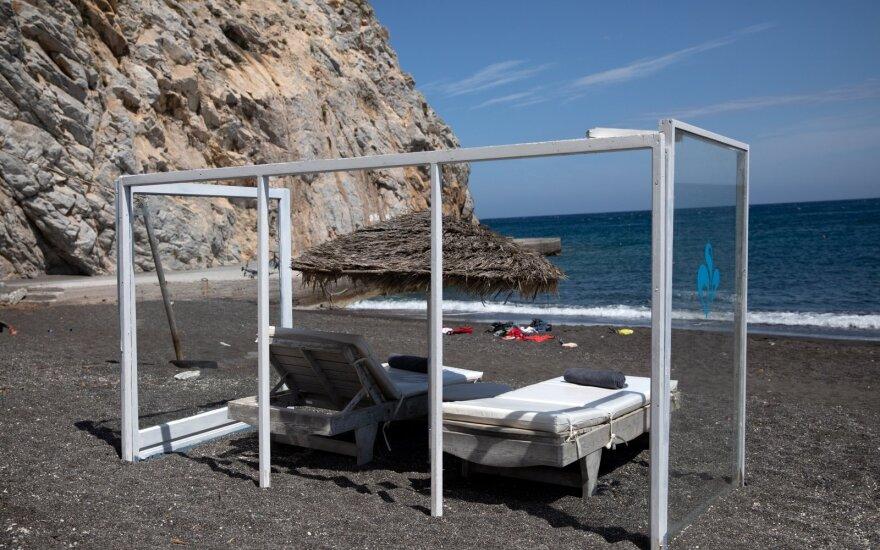 Paplūdimys Graikijoje