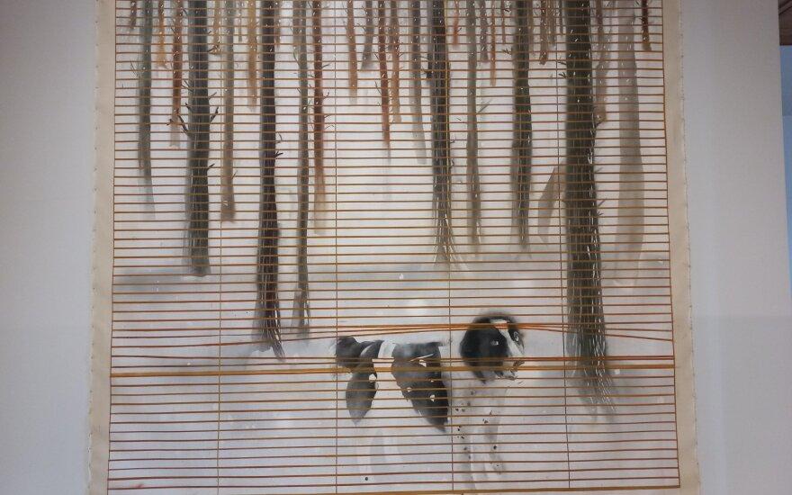 """Eglė Ridikaitė """"Kažkas užuodė kardamono kvapą"""", 2019(MO nuosavybė)"""