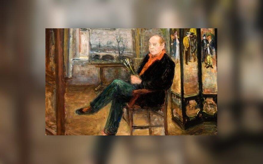 Arbit Blatas autoportretas (Lithuanian Art Museum)