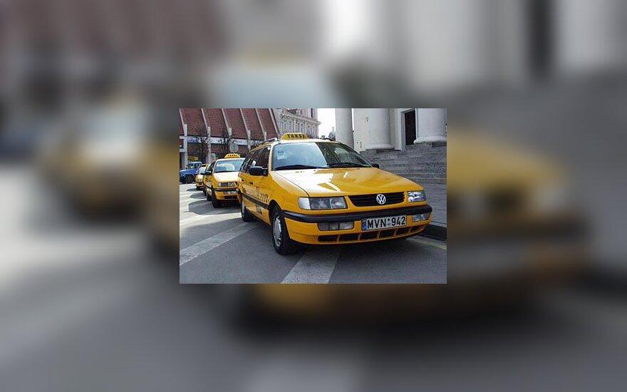 Geltonas taksi
