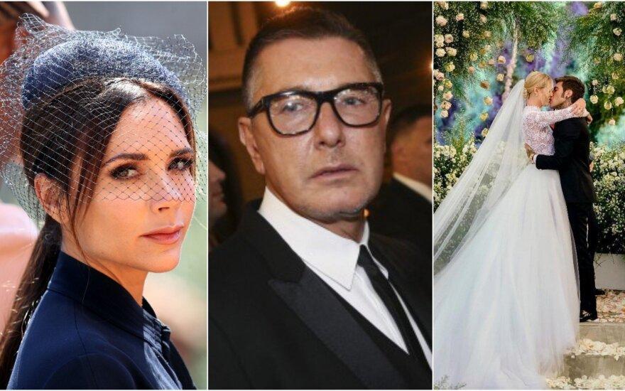 Victoria Beckham, Stefano Gabbana, Chiara Ferragni