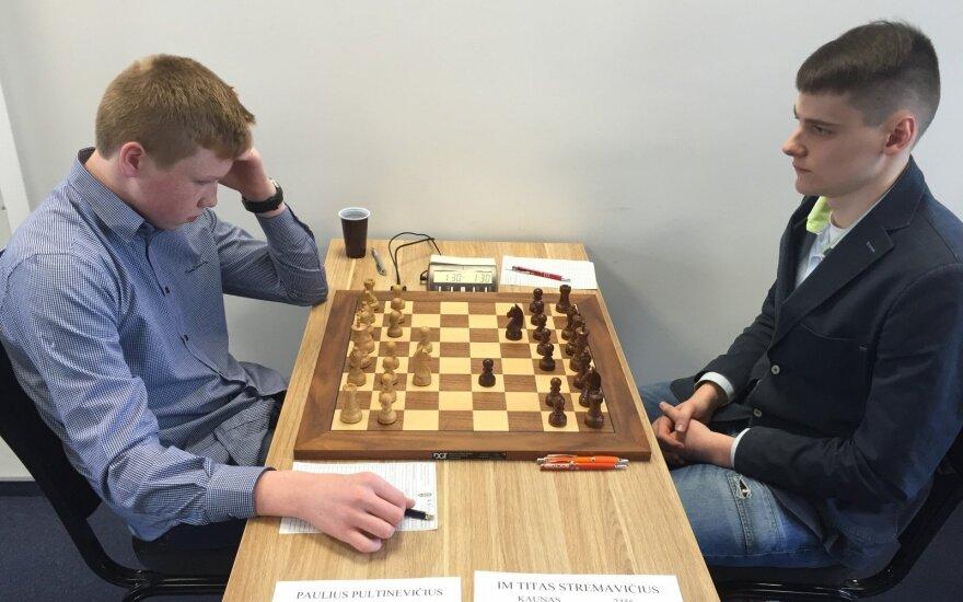Paulius Pultinevičius ir Titas Stremavičius