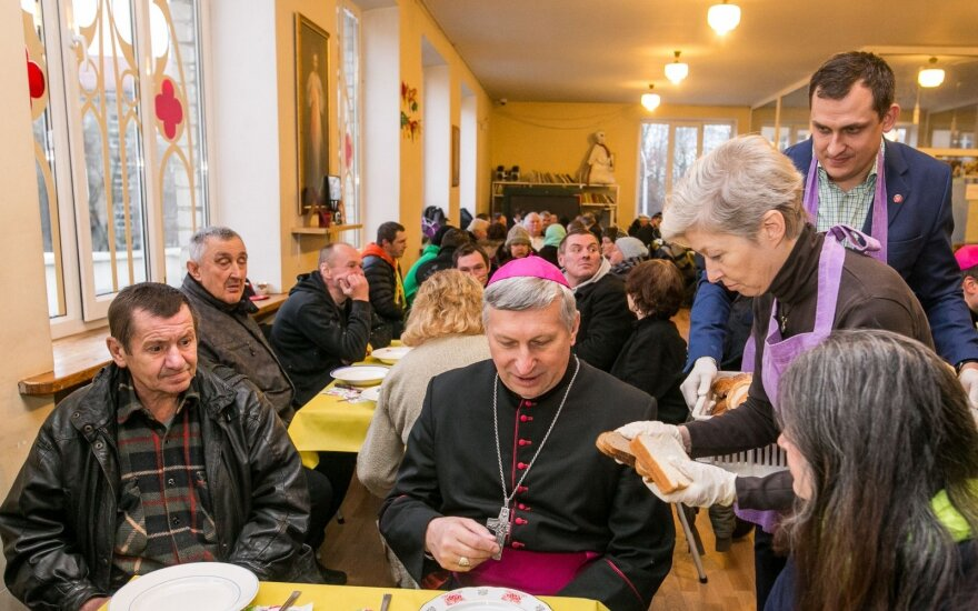 Vyskupų susitikimas su vargstančiais