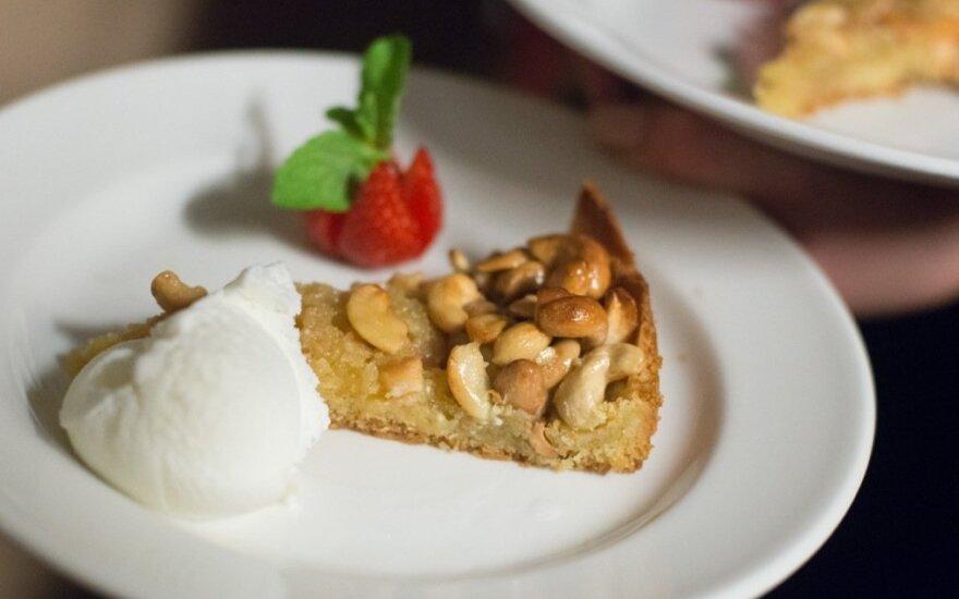 Tarte de cajuil - anakardžių pyragas