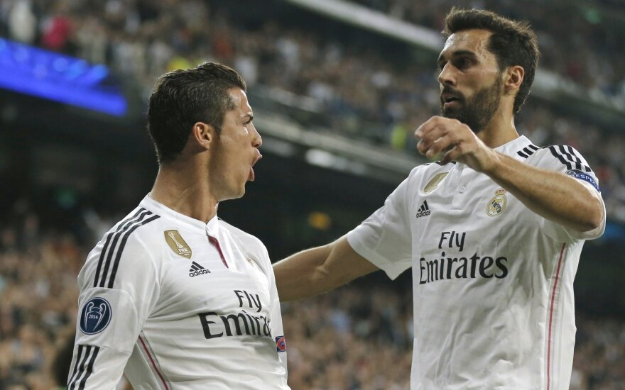 Cristiano Ronaldo ir Alvaro Arbeloa
