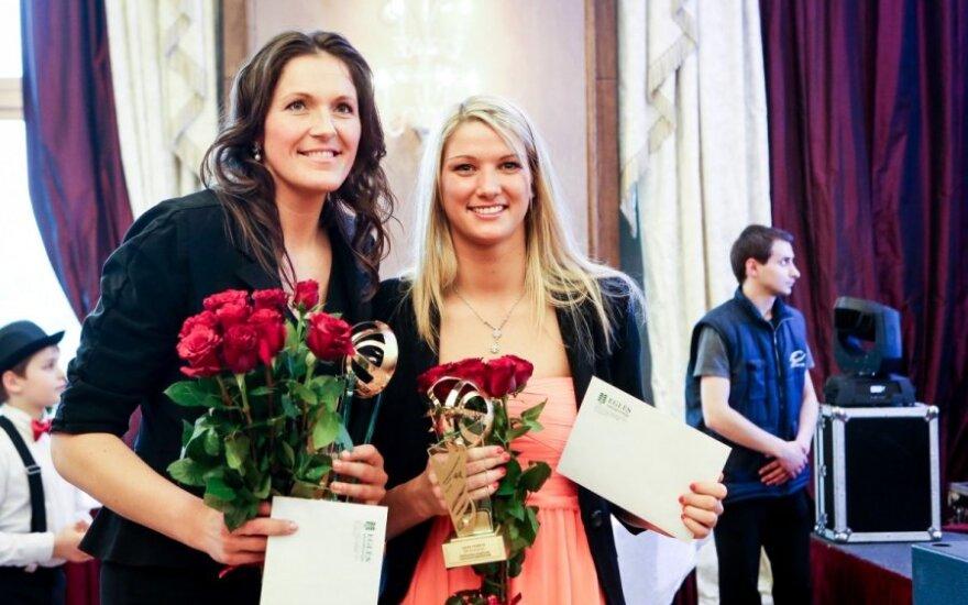 Iveta Šalkauskė ir Laura Svarytė