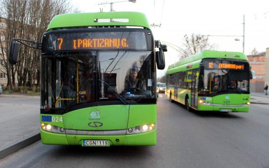 Saugumu viešajame transporte turi rūpintis patys keleiviai