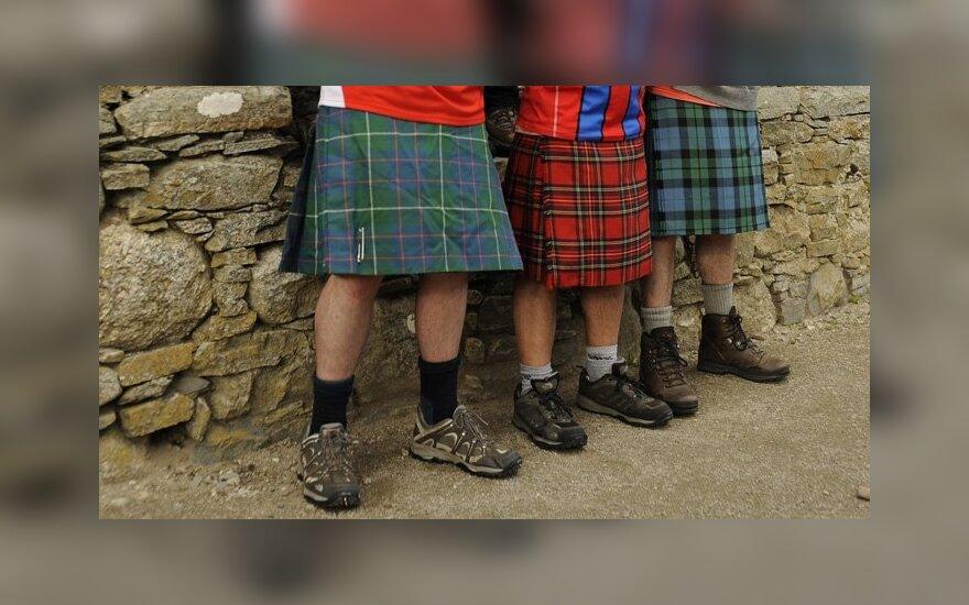 Škotai apklausoje pasisakė už atsiskyrimą nuo Didžiosios Britanijos