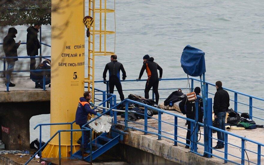 Atsirado Rusijos karinio lėktuvo katastrofos liudininkas: matė neįprastą vaizdą