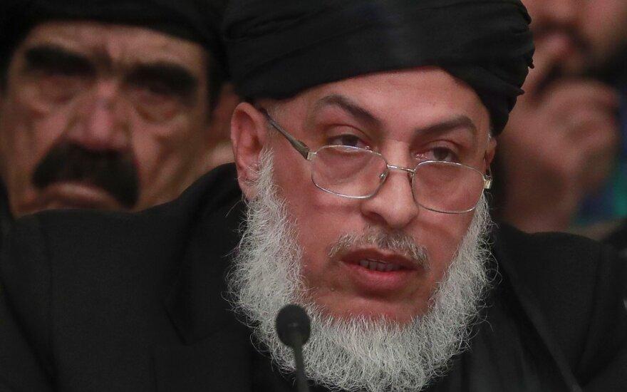 Vienas talibų lyderių Sheras Mohammadas Abbasas Stanikzai