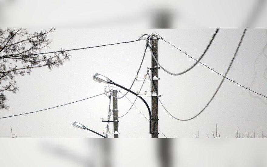 Lietuvos rinkoje pirmadienį šoktelėjo elektros kaina