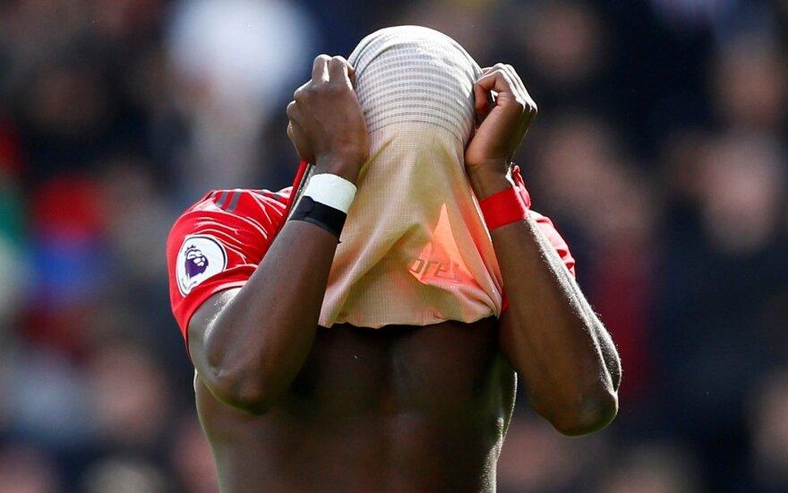 """""""Man United"""" liko be bilieto į UEFA Čempionų lygą, """"Chelsea"""" pakilo į trečią vietą"""