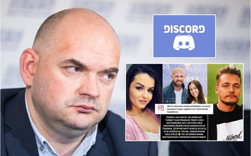 """Ataka prieš garsenybes """"Discord"""" serveryje virto skandalu, nusitaikyta prieš IT specialistą"""