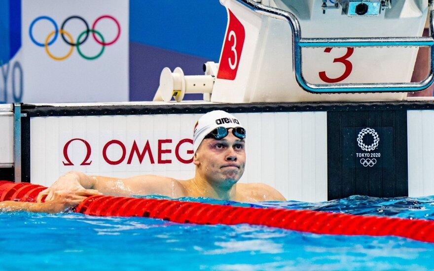 Lietuva – vis dar be medalių: Rapšys olimpinių žaidynių finale liko paskutinis