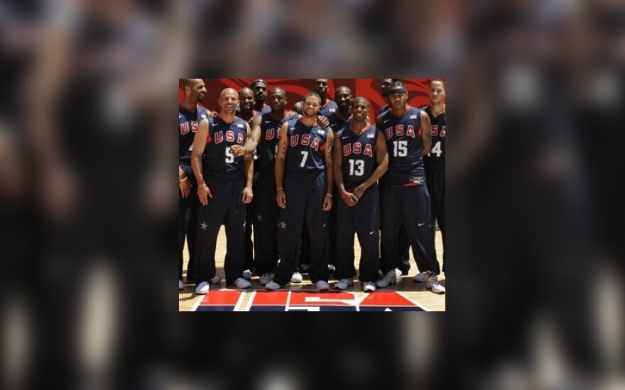 JAV olimpinė krepšinio rinktinė
