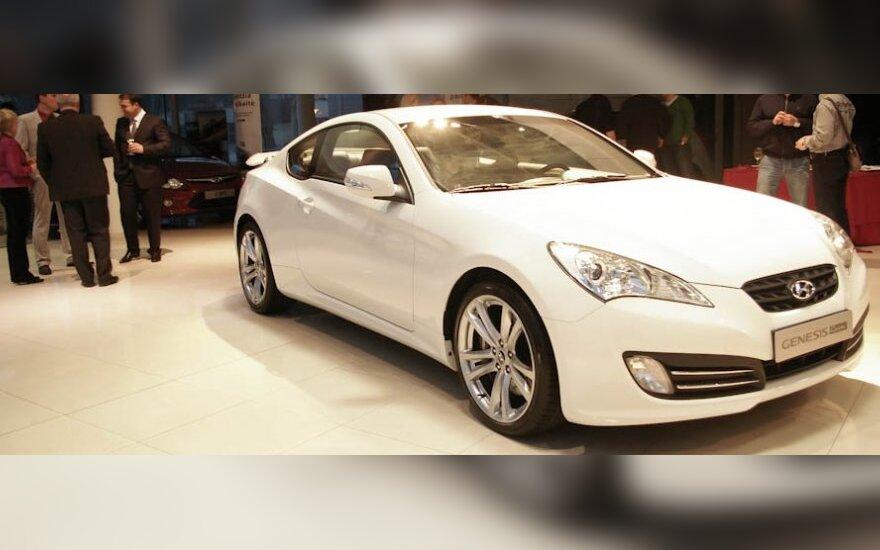 Hyundai Genesis Coupe pristatymas. V.Misevičiaus nuotr.