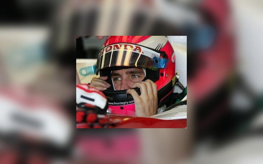 """Franck Montagny (""""Super Aguri Honda"""")"""