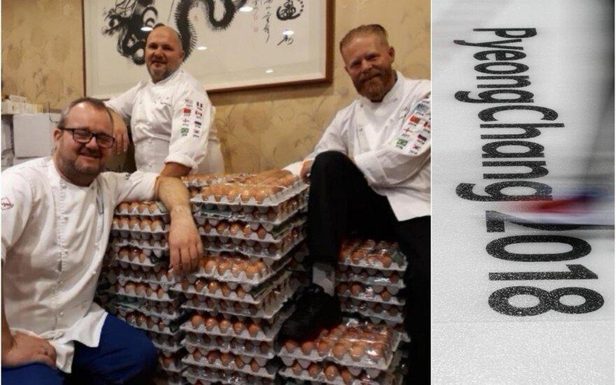 Norvegijos olimpinės rinktinės virtuvės šefai