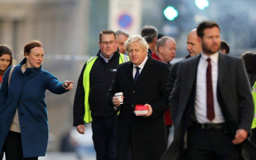 Borisas Johnsonas atakos Londone vietoje