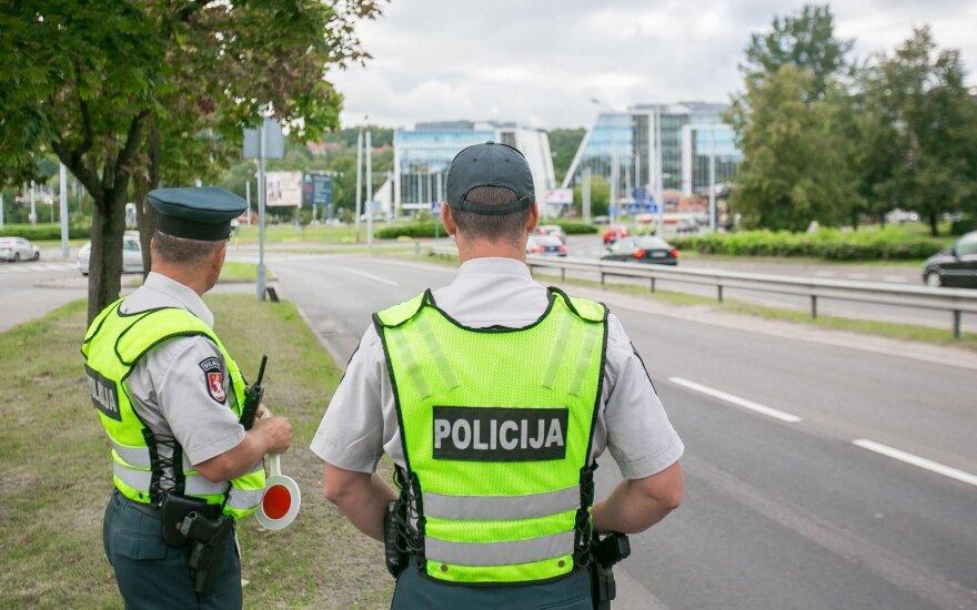 Policijos reidas (asociatyvi nuotr.)