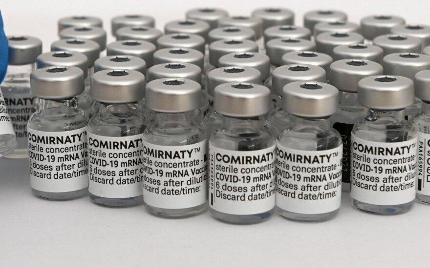 "Lietuvą pasiekė dvidešimtoji ""Pfizer"" siunta – beveik 100 tūkst. vakcinos dozių"
