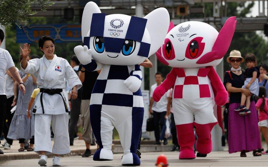 Tokijo olimpinių ir parolimpinių žaidynių talismanai Miraitowa ir Someity