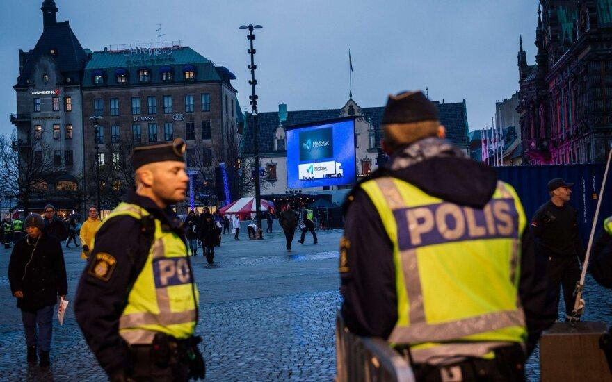 Švedijoje per šaudymą žuvo trys žmonės, šeši sužeisti