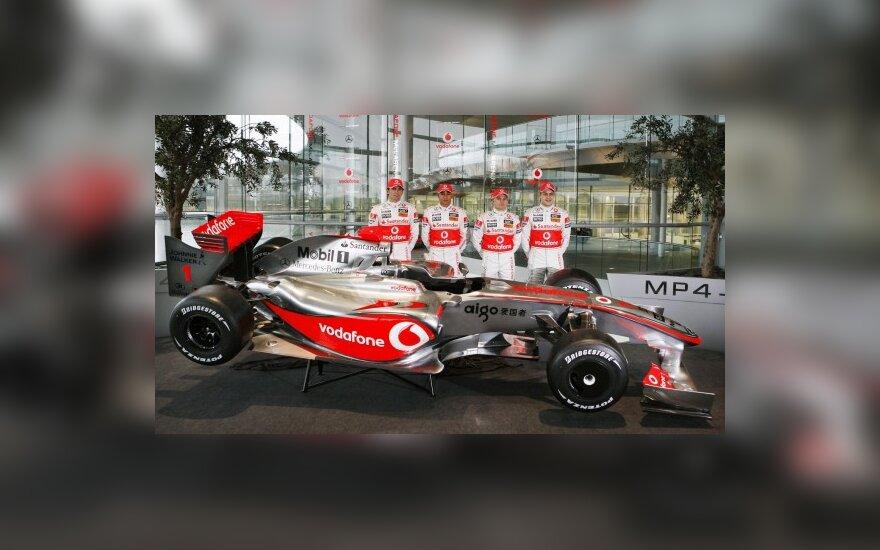 """""""McLaren"""" kuria naują bolido galą?"""