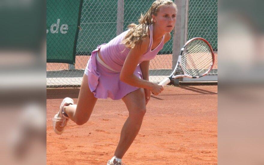 L.Stančiūtės nesėkmė ITF serijos teniso turnyre Belgijoje