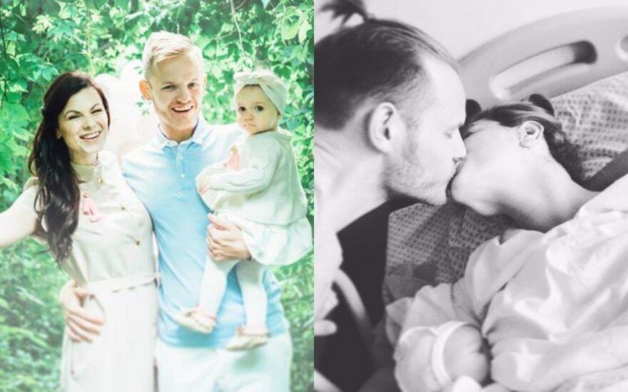 Žurnalistai Šarūnas ir Laura Mazalai sulaukė šeimos pagausėjimo ir jau išrinko kūdikiui vardą