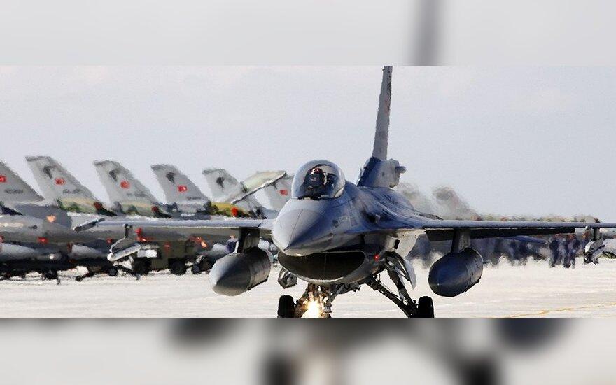Kariuomenė: Turkija Šiaurės Irake įvykdė oro antskrydžius