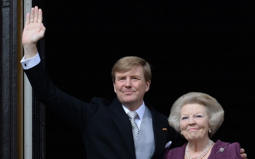 Willem-Alexander and Beatrix