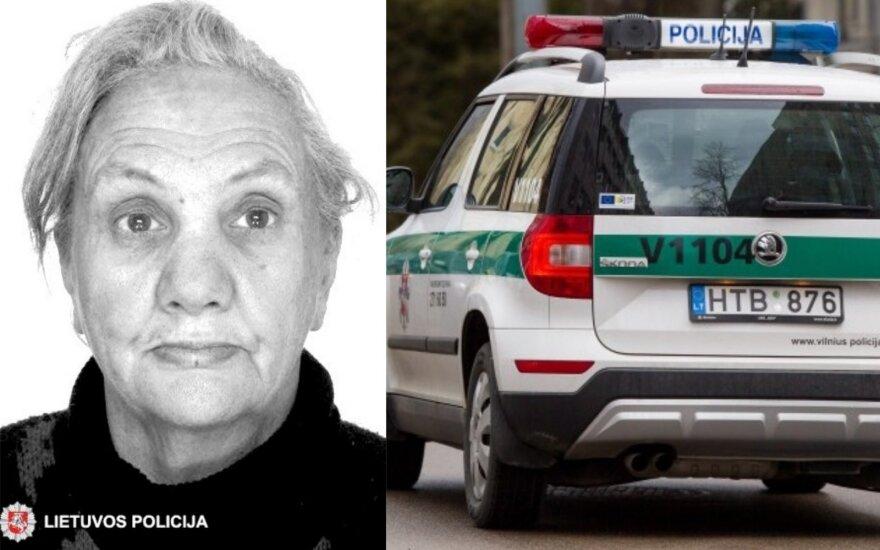 Onuškyje dingo moteris, policija prašo visuomenės pagalbos