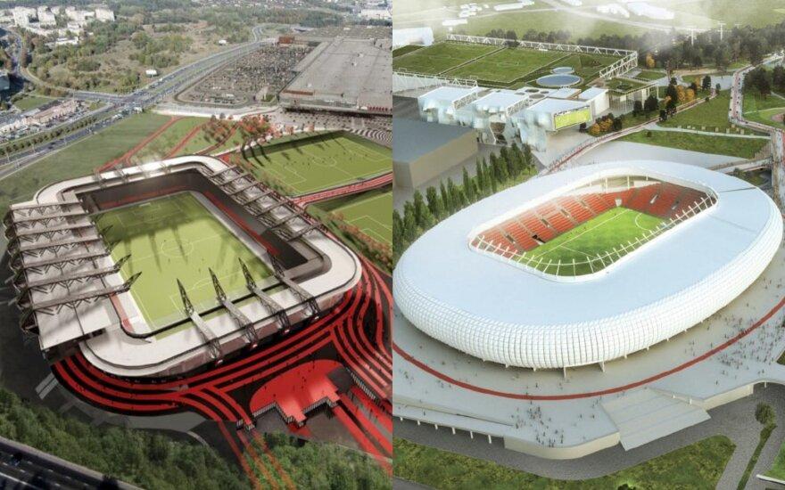 Skvernelis: we'll have national stadium in Kaunas, not Vilnius
